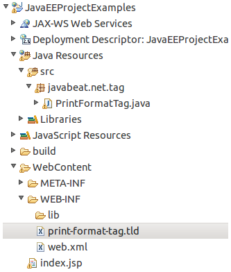 jsp-custom-tag-project-structure