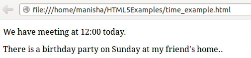 HTML5_time
