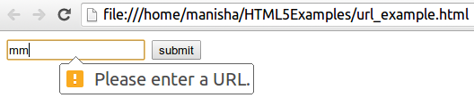 HTML5 URL