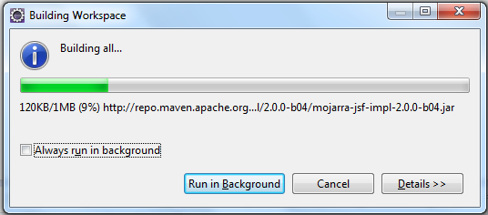 Installing Dependencies By Eclipse