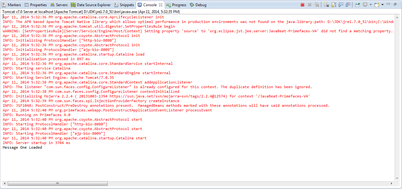 Running Demo using dynamic attribute