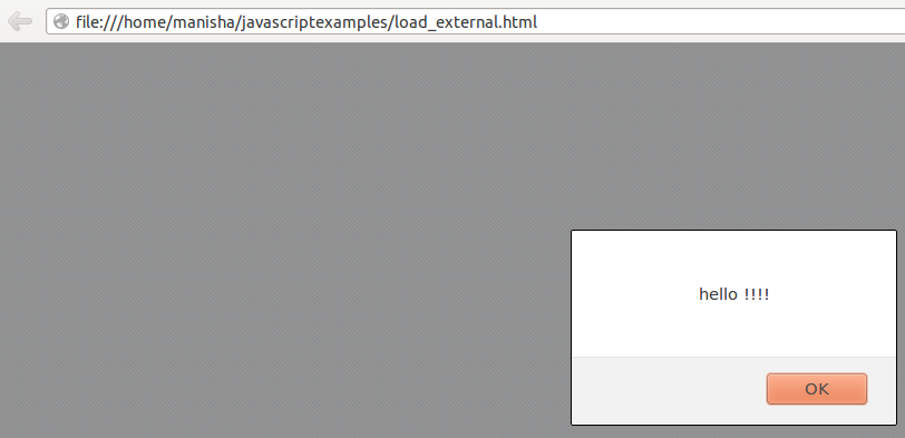 Javascript - Dynamically Loading External JavaScript or CSS File 1
