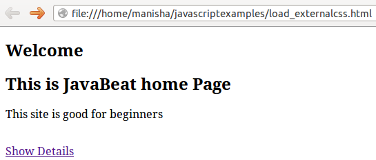 Javascript - Dynamically Loading External JavaScript or CSS File