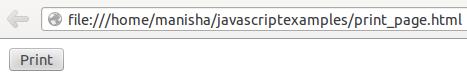 JavaScript Print