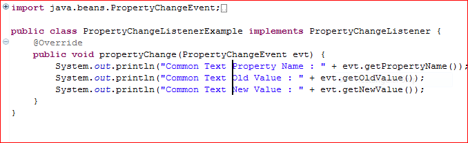 Block Selection in Eclipse Example