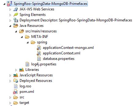 Setting of Mongo Persistence
