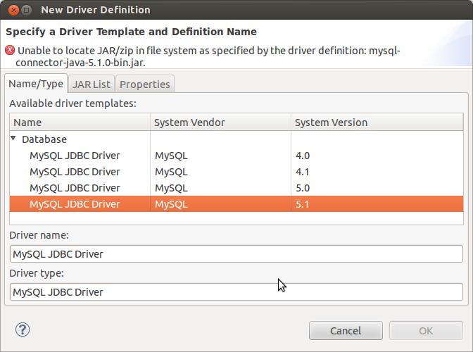 MySQL Driver