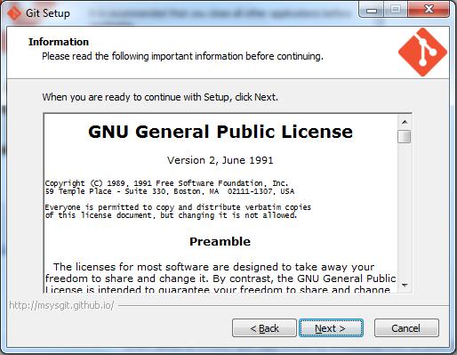 Git License