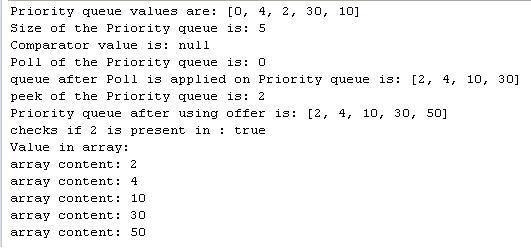 Java PriorityQueue Example