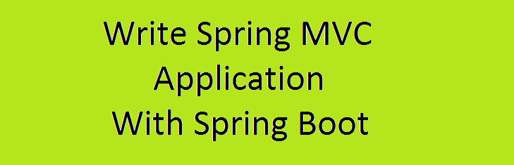 Spring Boot and Spring MVC