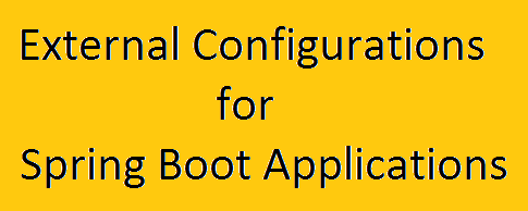 Spring Boot External Configurations Example