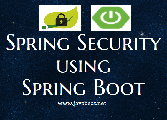 Spring Boot and Spring Security