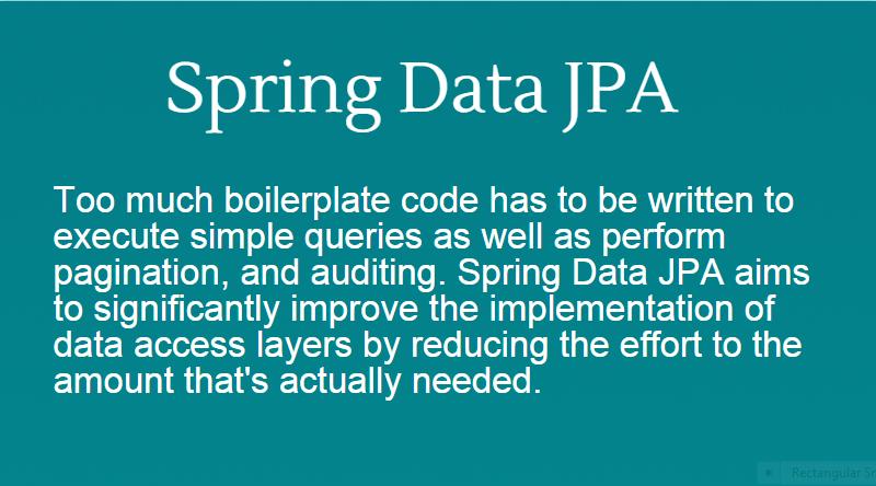 spring data jpa