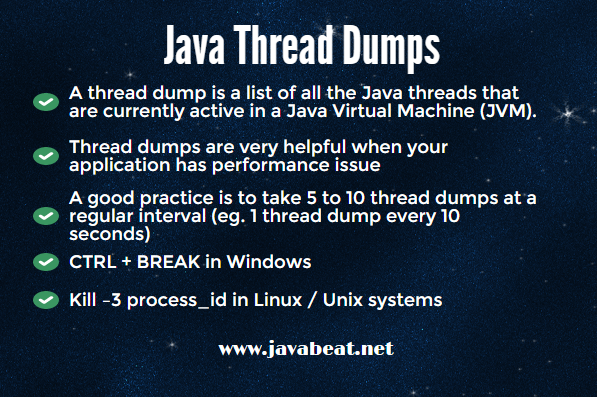 Java Thread Dumps