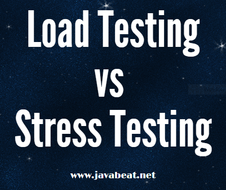 Load Testing vs Stress Testing